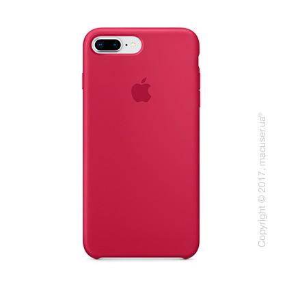 Чехол Apple iPhone 8 Plus/7 Plus Silicone Case, Rose Red