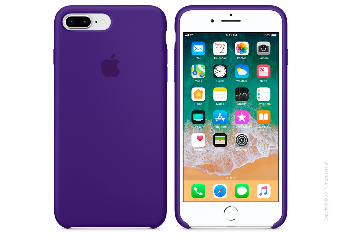 Чехол Apple iPhone 7 Plus/8 Plus Silicone Case, Ultra Violet