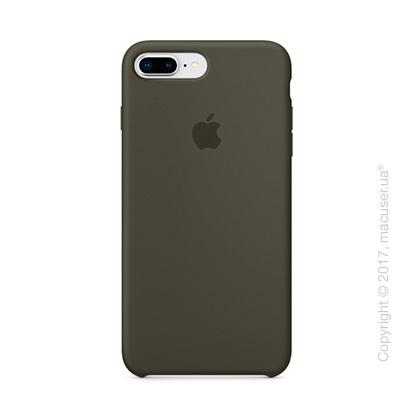 Чехол Apple iPhone 8 Plus/7 Plus Silicone Case, Dark Olive