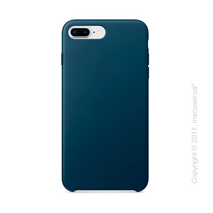 Чехол Apple iPhone 8 Plus/7 Plus  Leather Case, Cosmos Blue