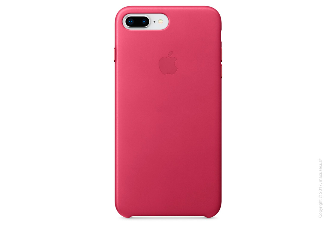 Чехол Apple iPhone 7 Plus/8 Plus  Leather Case, Pink Fuchsia