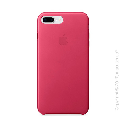 Чехол Apple iPhone 8 Plus/7 Plus  Leather Case, Pink Fuchsia