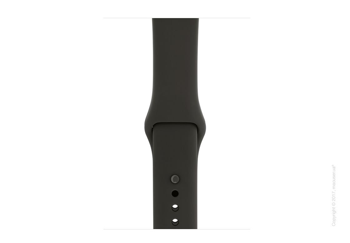 Apple Watch Edition Series 3 GPS + Cellular 42mm Ceramic Case с серым/чёрным спортивным ремешком