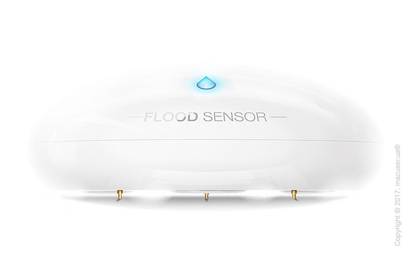Датчик утечки воды и температуры Fibaro Flood Sensor