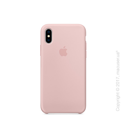 Чехол iPhone X Silicone Case - Pink Sand