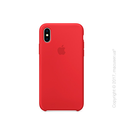 Чехол iPhone X Silicone Case - (PRODUCT)RED