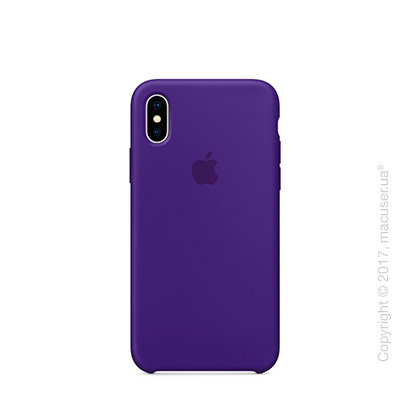 Чехол iPhone X Silicone Case - Ultra Violet
