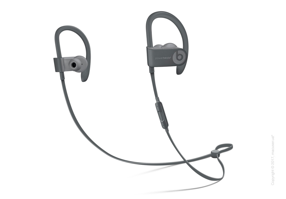 Наушники Powerbeats3 Wireless Earphones - Neighborhood Collection, Asphalt Gray