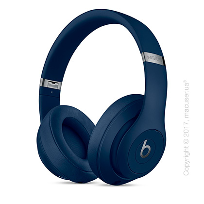 Наушники Beats Studio3 Wireless Over‑Ear Headphones, Blue