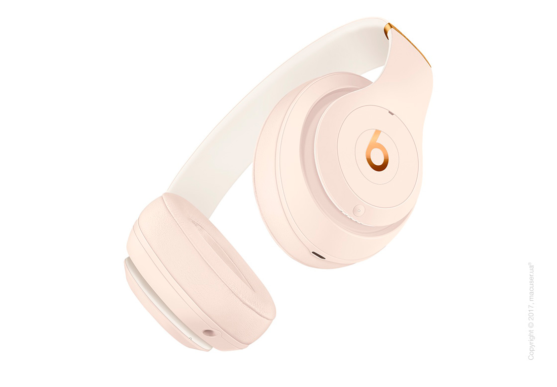 Наушники Beats Studio3 Wireless Over‑Ear Headphones, Porcelain Rose