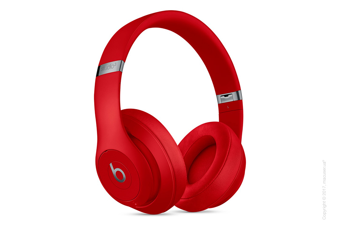 Наушники Beats Studio3 Wireless Over‑Ear Headphones, Red