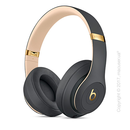 Наушники Beats Studio3 Wireless Over‑Ear Headphones, Shadow Gray