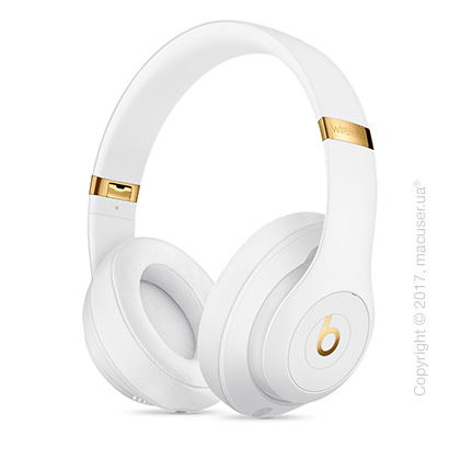 Наушники Beats Studio3 Wireless Over‑Ear Headphones, White