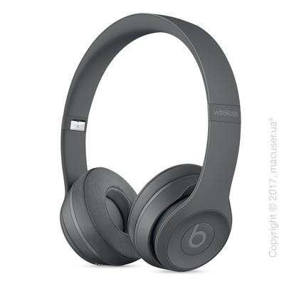 Наушники Beats Solo3 Wireless On-Ear Headphones - Neighborhood Collection - Asphalt Gray
