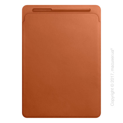 Чехол Leather Sleeve for 12.9‑inch iPad Pro - Saddle Brown