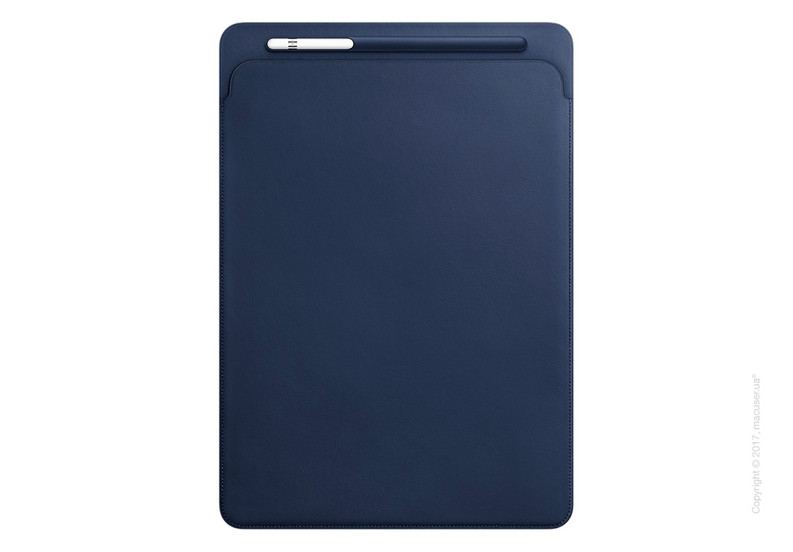 Чехол Leather Sleeve for 12.9‑inch iPad Pro - Midnight Blue