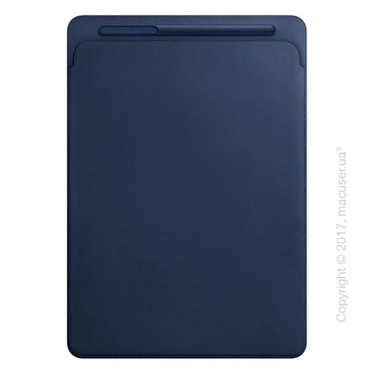 Чехол Leather Sleeve for 12.9‑inch iPad Pro - Midnight Blue