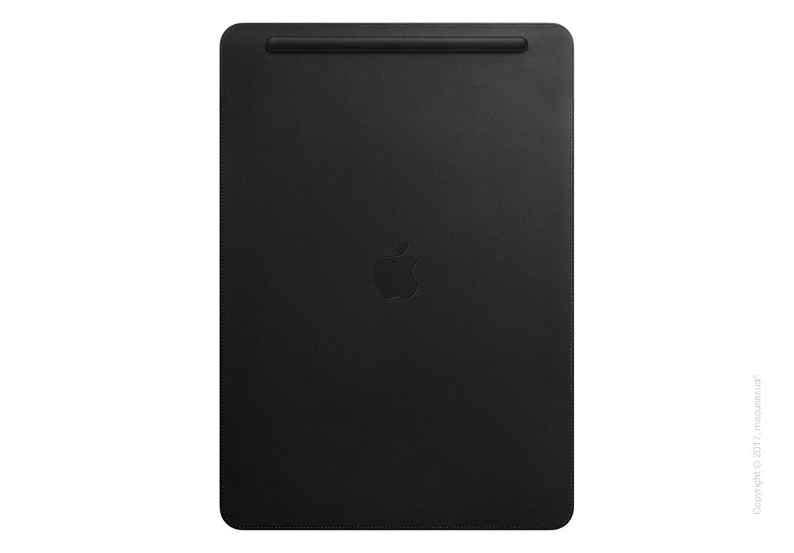 Чехол Leather Sleeve for 12.9‑inch iPad Pro - Black