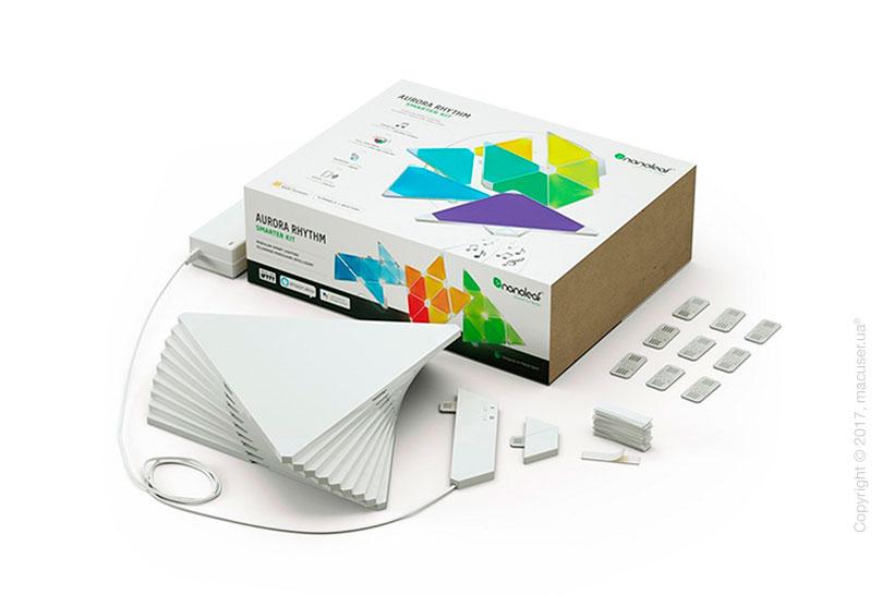 Модульный LED светильник Nanoleaf Aurora Rhythm Smarter Kit