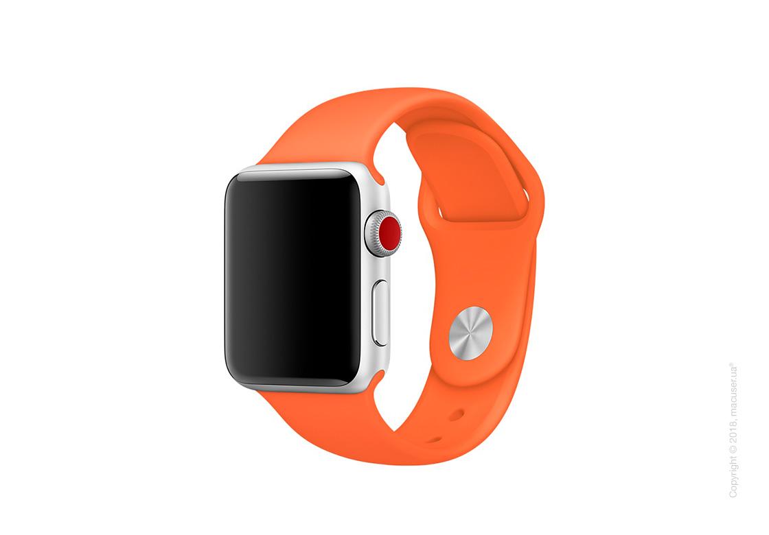 Спортивный ремешок цвета «оранжевый шафран» 38 мм