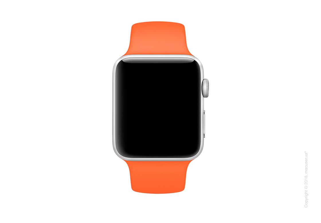 Спортивный ремешок цвета «оранжевый шафран» 42 мм
