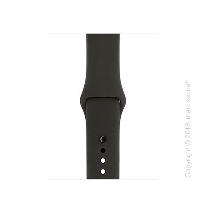 Спортивный ремешок серого цвета 38 мм