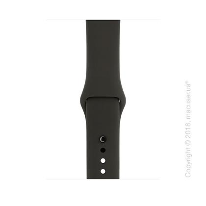 Спортивный ремешок серого цвета 42 мм