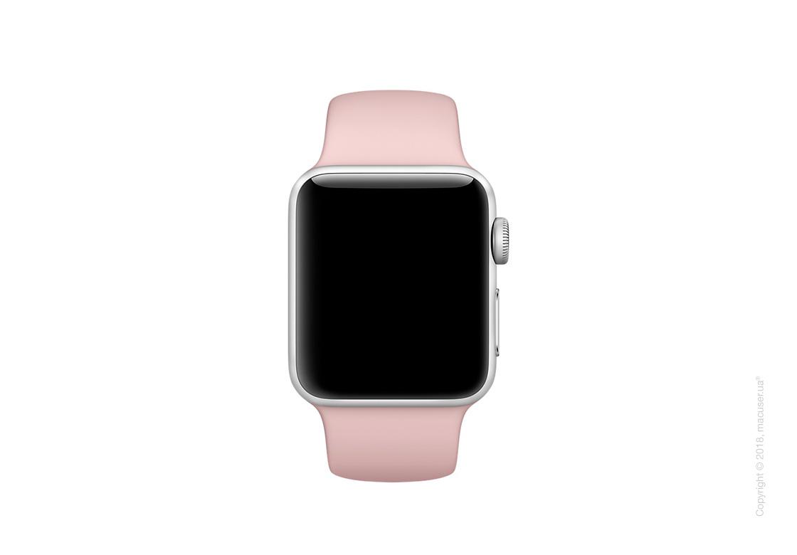 Спортивный ремешок цвета «розовый песок» 38 мм
