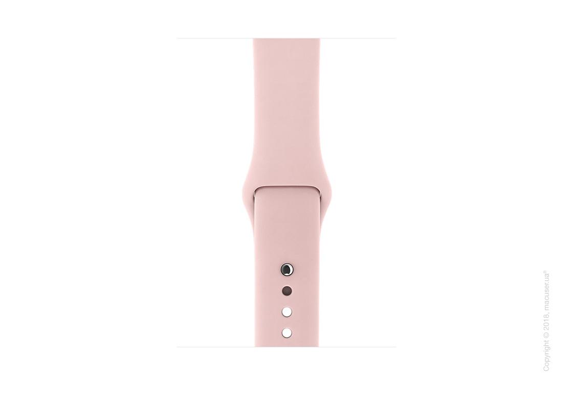 Спортивный ремешок цвета «розовый песок» 42 мм