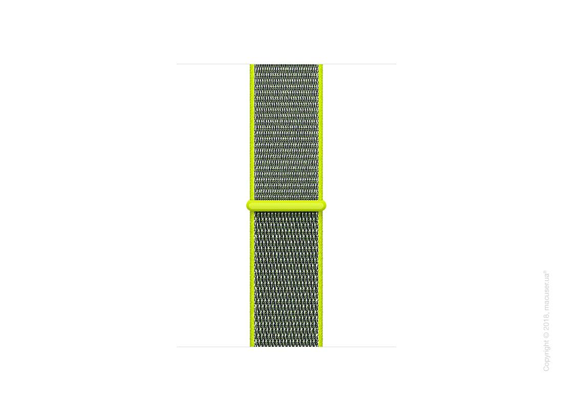 Спортивный браслет цвета «жёлтый неон» 38 мм
