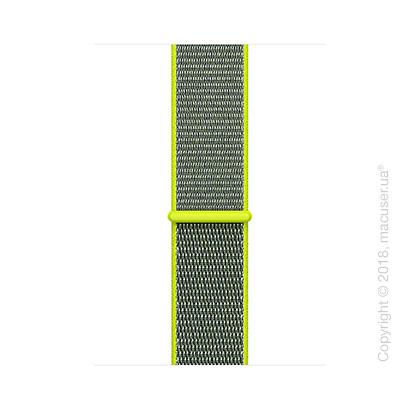 Спортивный браслет цвета «жёлтый неон» 42 мм