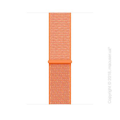 Спортивный браслет цвета «оранжевый шафран» 42 мм