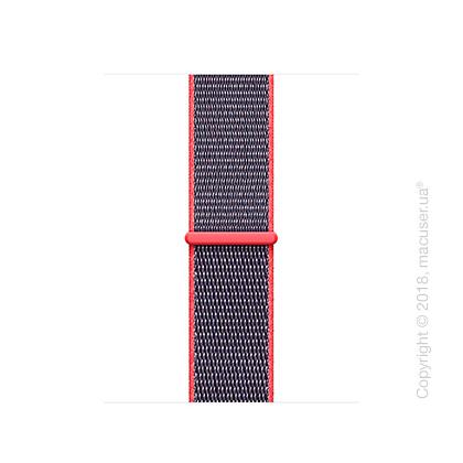 Спортивный браслет цвета «розовый неон» 38 мм