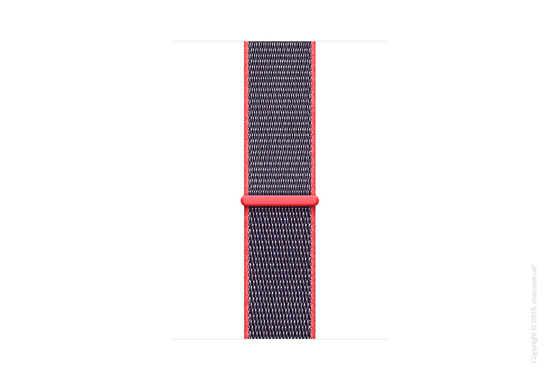 Спортивный браслет цвета «розовый неон» 42 мм