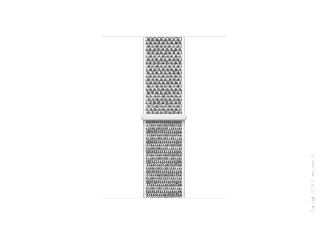 Спортивный браслет цвета «белая ракушка» 38 мм