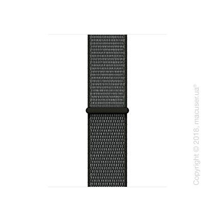 Спортивный браслет тёмно-оливкового цвета 38 мм
