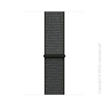 Спортивный браслет тёмно-оливкового цвета 42 мм