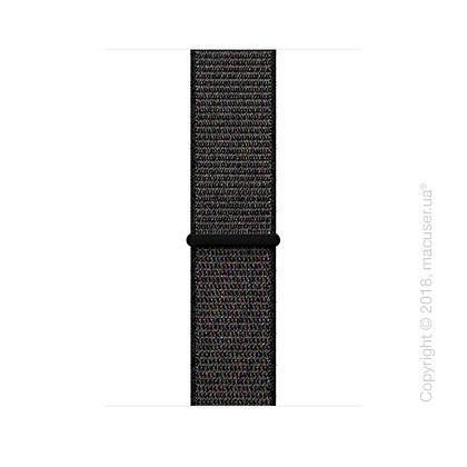 Спортивный браслет чёрного цвета 42 мм