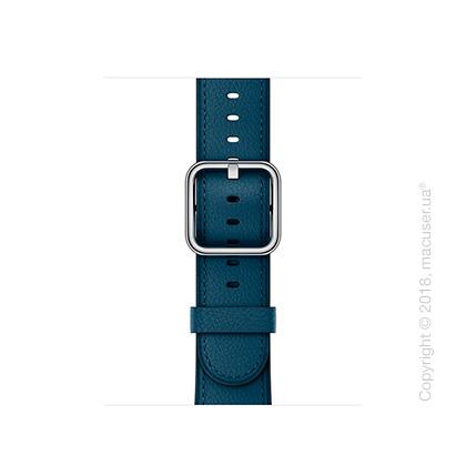 Ремешок цвета «космический синий» с классической пряжкой 38 мм