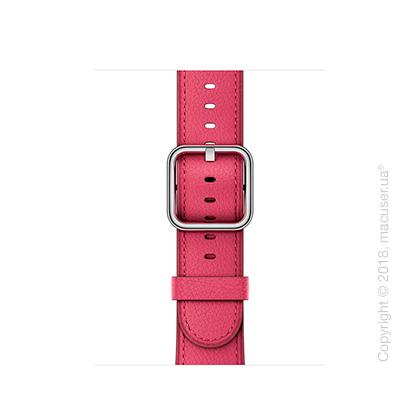 Ремешок цвета «розовая фуксия» с классической пряжкой 38 мм