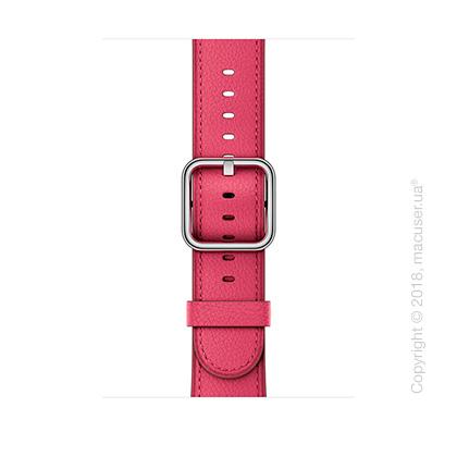 Ремешок цвета «розовая фуксия» с классической пряжкой 42 мм