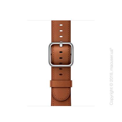 Ремешок золотисто-коричневого цвета с классической пряжкой 38 мм