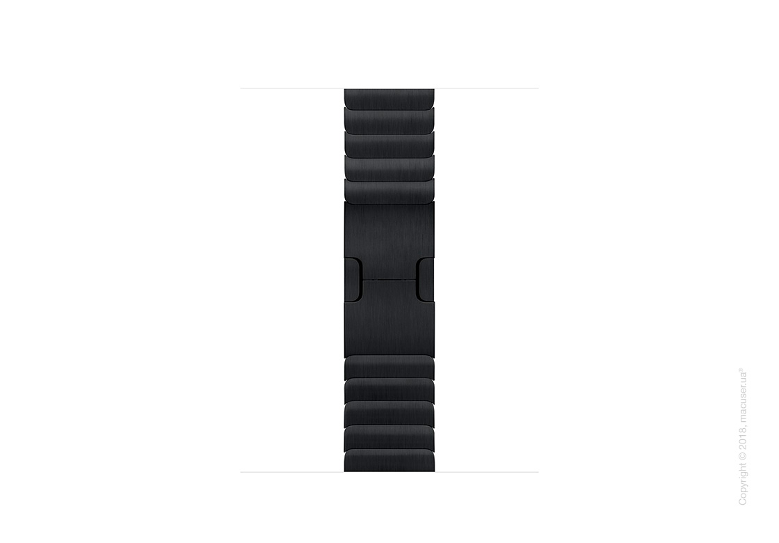 Блочный браслет цвета «чёрный космос» 38 мм
