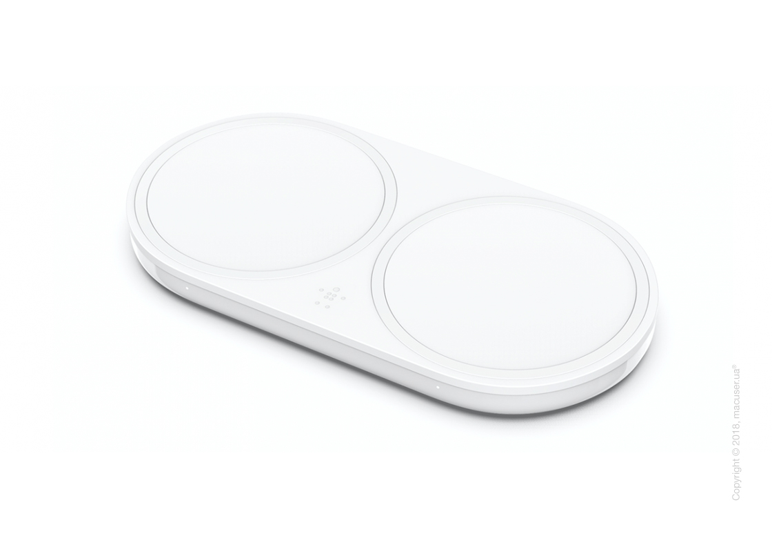 Belkin BOOST UP™ Dual Wireless Charging Pad, White