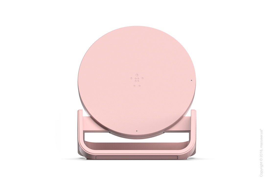 Belkin BOOST UP™ Wireless Charging Stand, Desert Pink