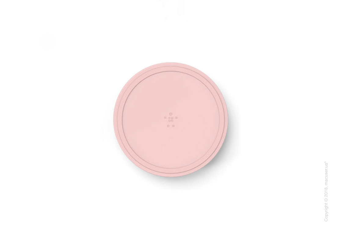 Belkin BOOST UP™ Bold Wireless Charging Pad, Desert Pink