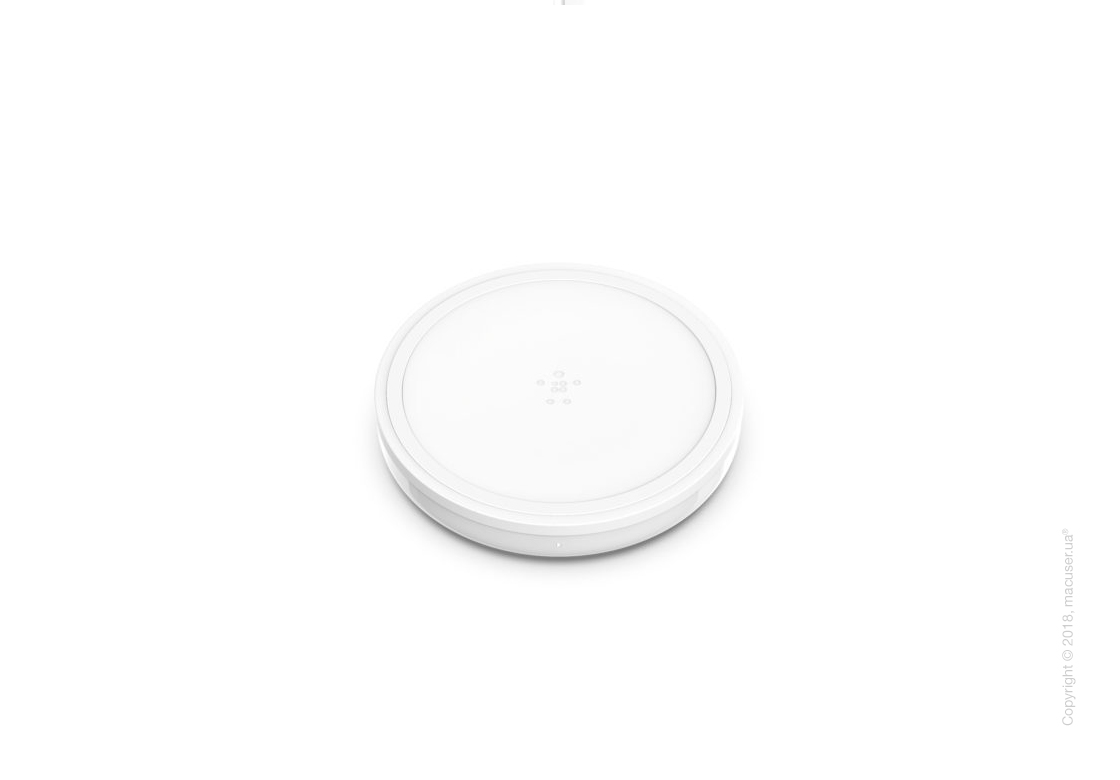 Belkin BOOST UP™ Bold Wireless Charging Pad, Snowcap White