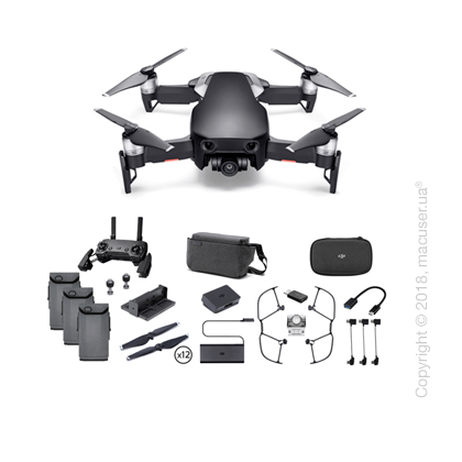Квадрокоптер DJI Mavic Air Fly More Combo Onyx Black New