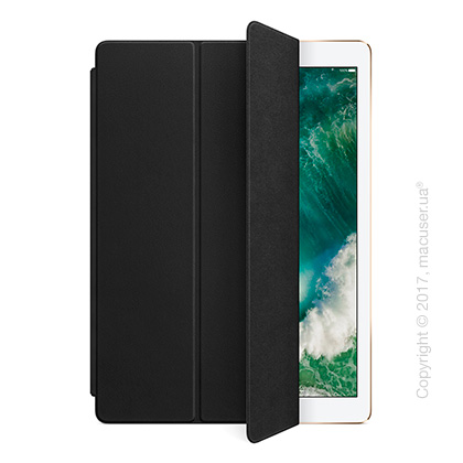 Чехол Leather Smart Cover, Black для iPad Pro 12,9