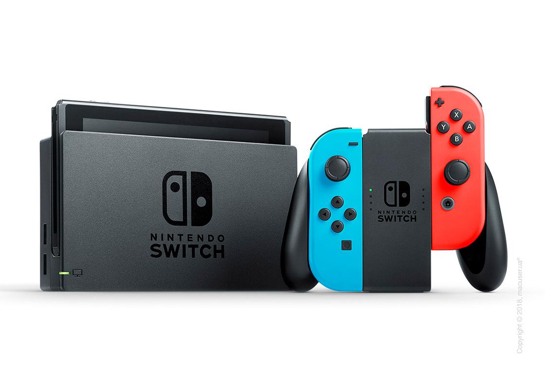 Игровая консоль Nintendo Switch - Neon Red/Neon Blue Joy-Con